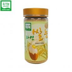 유기농 자연쌀눈 병 (200g)