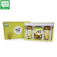 유기농 선물세트1 (볶음 스틱/자연쌀눈/볶음쌀눈)