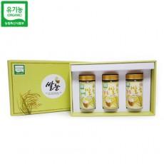 유기농 선물세트2 (자연쌀눈/볶음쌀눈/볶음쌀눈 분말)