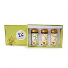 일반 선물세트2 (자연쌀눈/볶음쌀눈/볶음쌀눈 분말)