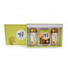 일반 선물세트1 (볶음스틱/자연쌀눈/볶음쌀눈)